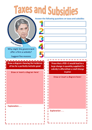ppf production possibility frontier worksheet by porl99