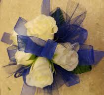 royal blue corsage corsages the bug flower gift shop redmond or