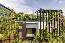 Home Design In Harmony With Nature - Modern green home design
