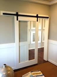 barn doors for homes interior interior barn door with glass socielle co