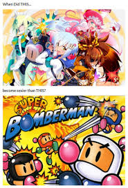 Arcade Meme - bomberman spinoff titled bombergirl a new arcade game announced by