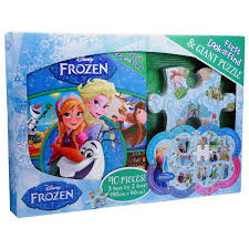disney frozen first look and find book and puzzle set bms wholesale
