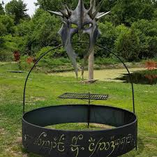 rings with fire images Lord of the rings firepit is perfect for an evening outdoors jpg