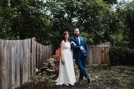 rickie nicole backyard wedding in germantown philadelphia