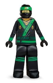 Boys Lego Halloween Costume Boys Lego Ninjago Movie Lloyd Prestige Halloween Costume Child