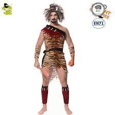 Caveman Couples Halloween Costumes Aliexpress Buy Original Jungle Caveman Cosplay Men