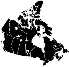 Canada Blank Map Vector Maps Of Canada Free Vector Maps Filecanada Provinces Blank