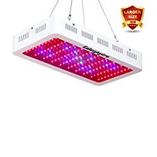 led grow lights amazon com roleadro 300w led grow light galaxyhydro series full