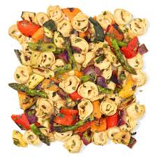 cheesy grilled veggie pasta salad rachael ray every day