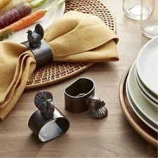 turkey napkin ring turkey napkin ring crate and barrel
