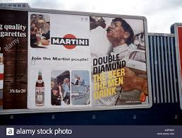 martini diamond old posters for double diamond beer martini stock photo royalty