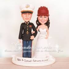 marine wedding cake toppers engineer and marine officer wedding cake toppers