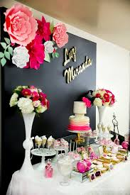 pink and black floral baby shower baby shower ideas themes games