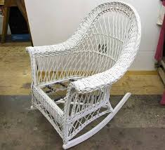 White Wicker Armchair Antique Wicker Rocking Chairs Inspirations Home U0026 Interior Design