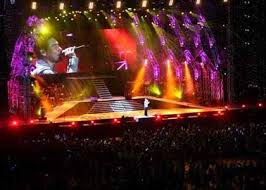 floor mounted stage lighting ma design for film tv and events variation in stage lighting