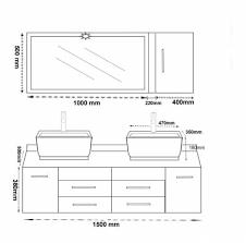mesures cuisine étourdissant hauteur meuble cuisine avec hauteur standard meuble