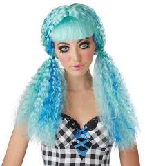 halloween doll wig costume doll wig wigs by unique