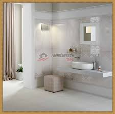 cool and stylish bathroom designs and tile border models 2017