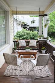 neutral beautiful front porches design with cool white hanging