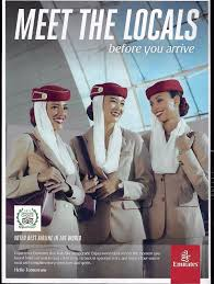 emirates inflight shopping 2017 emirates airlines print ad advertisement 3 stewardesses in full