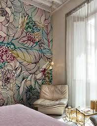 papier peint trompe l oeil chambre 1001 idées pour un papier peint trompe l œil les décos qui