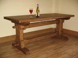 Sensational Inspiration Ideas Rustic Oak Dining Table All Dining - Rustic oak kitchen table