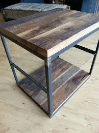 Sofa End Table by Reclaimed Wood Furniture And Barnwood Furniture Custommade Com