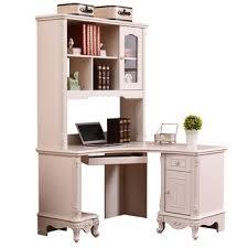 Provincial Bookcase White Antique French Provincial Computer Desk Bookcase Combination