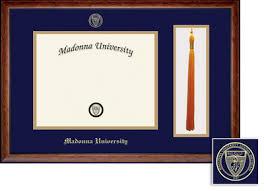 tassel frame madonna bookstore framing success diploma tassel frame