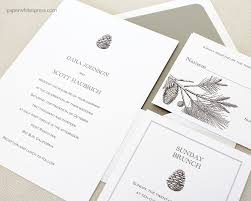 dove wedding invitations pinecone wedding invitations paperwhites wedding invitations