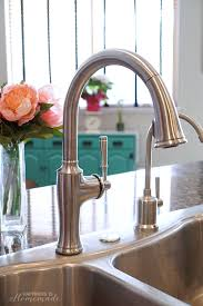 kitchen faucets kohler how to install a kitchen faucet happiness is