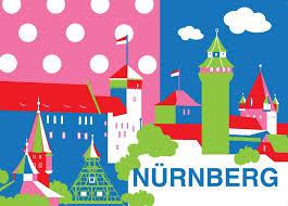 grafik design n rnberg cityproducts postkarte nürnberg grafik