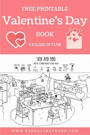 printable activities children s books free printable valentine s day activity book free printable
