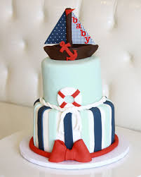 nautical baby shower cakes rise cupcakes nautical baby shower