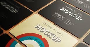 Business Card Mockup Psd Download Psd Business Card Mockup Vol4 Psd Mock Up Templates Pixeden