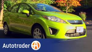 2011 ford fiesta sedan new car review autotrader youtube