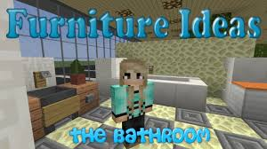 minecraft bathroom ideas cool kitchen ideas for minecraft pe minecraft modern bathroom for