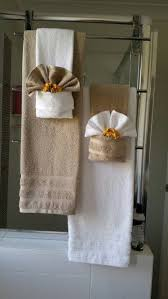 Decorate Bathroom Towels Towel Folding Bathroom Decor Decor Bathroom Pinterest