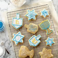hanukkah cookies hanukkah cut out cookies recipe land o lakes