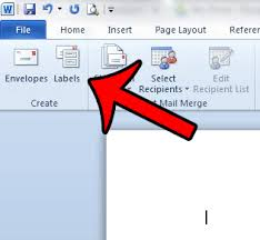 how to choose an avery label template in word 2010 solve your tech