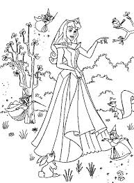 princess color print coloring coloring