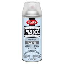 Krylon Transparent Spray Paint - krylon crystal clear gloss covermaxx walmart com