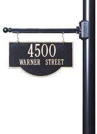 hanging house address plaques and number signs for sale