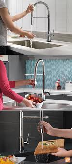how to stop a faucet in kitchen this sophisticated kitchen faucet makes cooking and cleaning easier