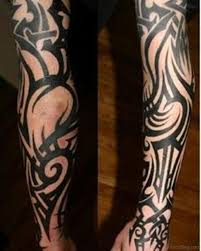 70 fabulous tribal tattoos on sleeve