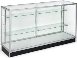 Black Display Cabinet With Glass Doors by 70