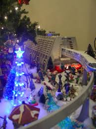 my 2012 disney christmas monorail display wdwmagic unofficial