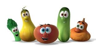 veggietales on stalking vegetables and a giveaway grasping