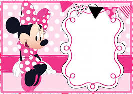 minnie mouse invitations printable minnie mouse birthday party invitation template free