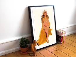 beyonce poster hold up lemonade print minimalist art